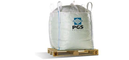 PGS reverse standard or customized big-bag, 20 sizes in stock