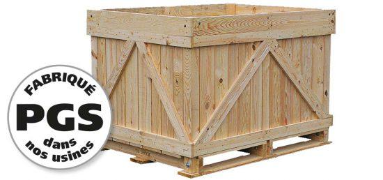 PGS reverse tous types de caisses bois