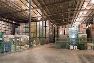 PGS reverse entrepôt parc logistique
