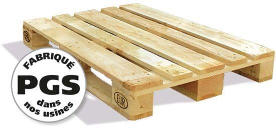 PGS reverse tous types de palettes bois standard et sur mesure