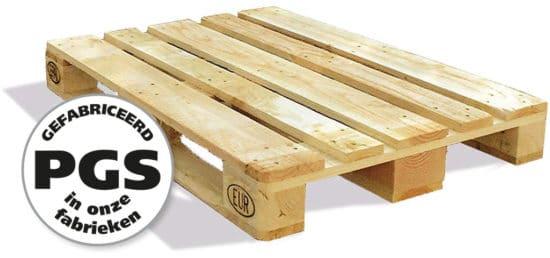 PGS reverse Alle soorten houten pallets standaard of op maat