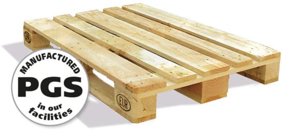 PGS reverse all types of standard and customized wood pallets