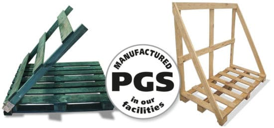 PGS reverse foldable back flap pallets – Back flap pallets