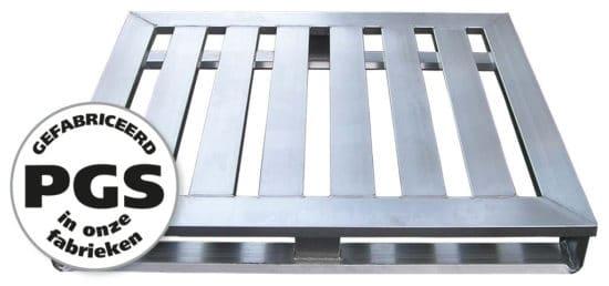 PGS reverse Metalen pallets