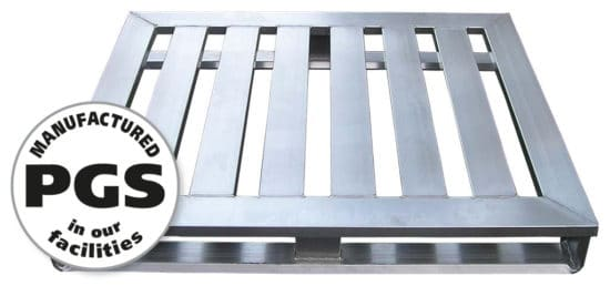 PGS reverse metal pallets