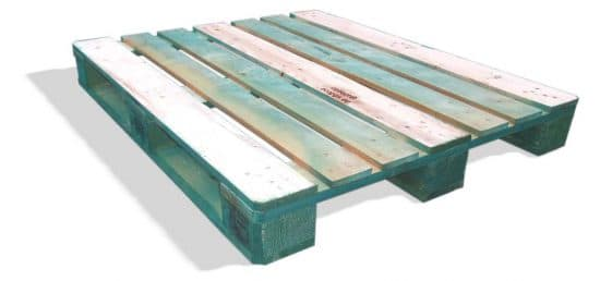 PGS reverse Green ECO PGS pallet Format 1000 x 1200