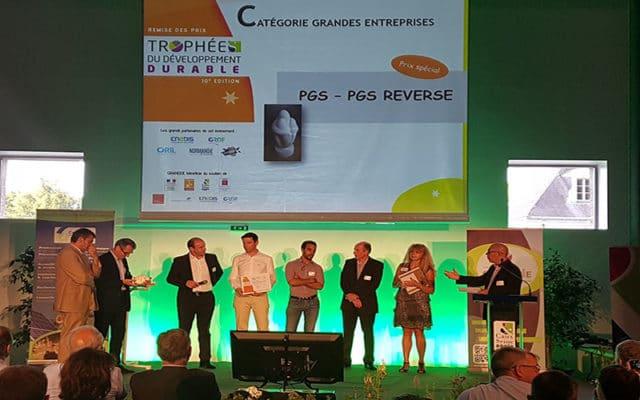 PGS reverse Trophée développement durable 2017
