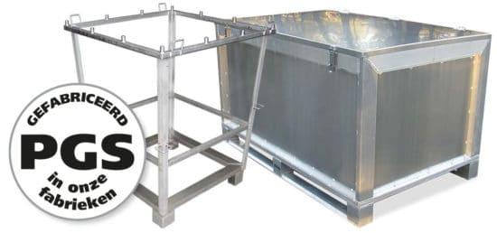 PGS reverse Metalen kisten en frames