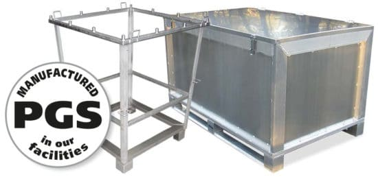 PGS reverse metal cases and equipment