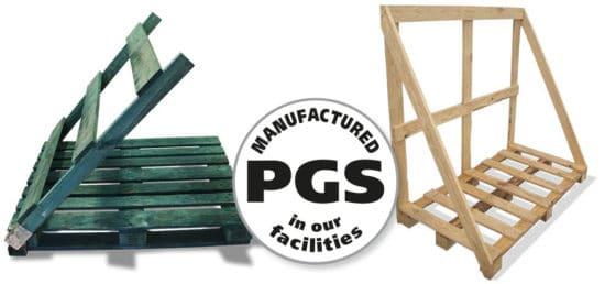 PGS reverse foldable back flap pallets – Back flap pallets